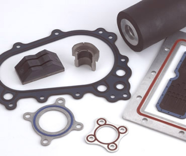 rubber bonded to metal | Rubber Steel Bonded Parts