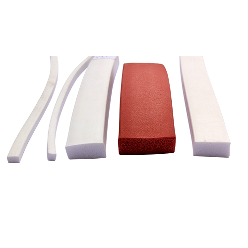 Silicone Sponge Extrusions Sections | Silicone Molding